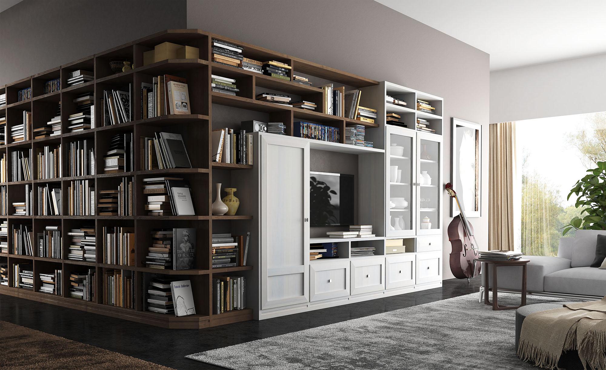 Catalogo rendering mobile soggiorno